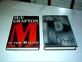 Lot 2 Sue Grafton Hardback Book Club ( R Is for Ricochet & P Is for Peril )