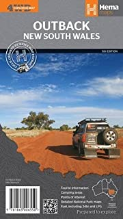 Outback New South Wales: Hema Map 1:1.1M