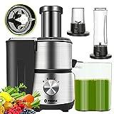 POTANE Multifunctional Juicer Machine, 3 IN 1 Centrifugal Juicer, Personal Blender, Coffee Grinder,...