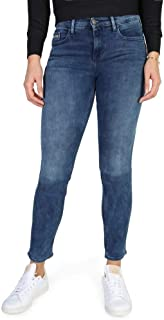 Mid Rise Skinny Jeans para Mujer