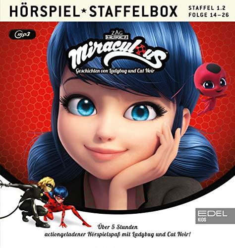 Miraculous - Geschichten von Ladybug & Cat Noir- mp3-Staffelbox 1.2 (Folgen 14 - 26) - Das Original-Hörspiel zur TV-Serie