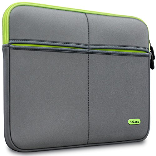 AirCase Laptop Bag Sleeve Case Cover for 15/15.6-Inch Laptop MacBook | 6-Multi...