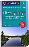 KOMPASS Wanderführer Fichtelgebirge mit Naturpark Frankenwald und Naturpark Steinwald: Wanderführer mit Extra-Tourenkarte 1:65000, 55Touren, GPX-Daten zum Download.