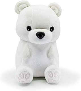 Bellzi Polar Bear Cute Stuffed Animal Plush Toy - Adorable Soft White Bear Toy Plushies and Gifts - Perfect Present for Kids, Babies, Toddlers - Poli