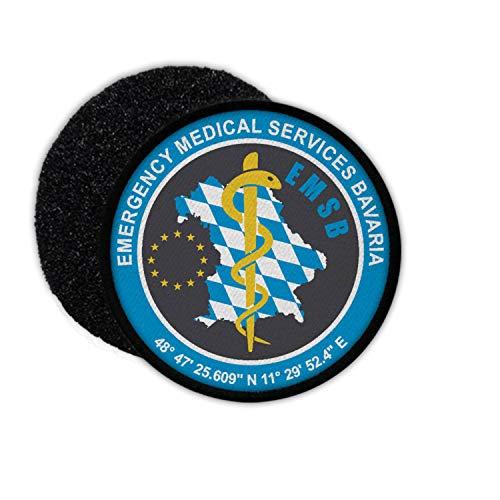 Copytec Patch EMSB Rettungsdienst Bayern Bavaria Sanitäter Notarzt Freistaat #31177