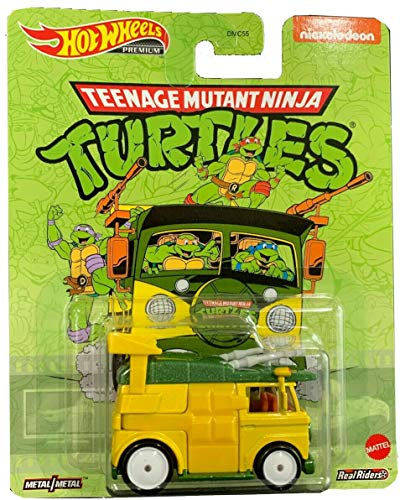 Hot Wheels Teenage Mutant Ninja Turtle Party Wagon