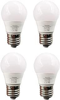 12 v Low voltage led light bulbs AC DC 12V to 48V E26 Soft White 3000K 3W 4 Pack for Off Grid Solar Lighting Marine Boat RV 12v Interior Lighting warm white for Camper