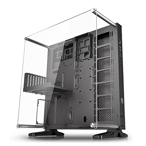 Thermaltake Core P5 Black Edition ATX Open Frame Panoramic Viewing Tt LCS...