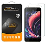 (2 Pack) Supershieldz for HTC Desire 10 Lifestyle and Desire 825 Tempered Glass Screen Protector, Anti Scratch, Bubble Free