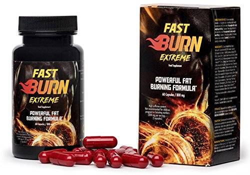 ✅FAST BURN EXTREME - effektiver Fatburner, beschleunigt die Verbrennung von Fettdepots, verhindert Fett Neuablagerung, stärkt das Muskelwachstum, verleiht Energie