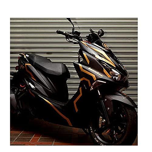 Etiquetas engomadas decorativas de la motocicleta Un Juego De Calcomanías Para Motocicleta, Calcomanías Para El Cuerpo Modificadas Para Y-amaha Force 155