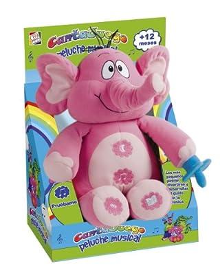 Cantajuego - Elefante musical cantajuego por Cefa Toys