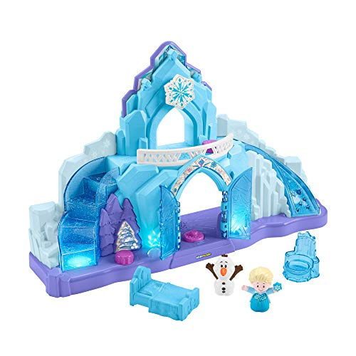 Disney Frozen Elsa's Ice Palace by Little People | Play sets for Girls Age 3