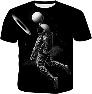 Men's Short Sleeve Tees Summer 3D Printed Graphic T-Shirts Comfort Blouse Top