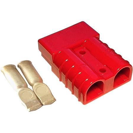 Batterie Stecker 175a 35 Mm2 Rot Steckverbinder Für Gabelstapler Kabel Beleuchtung