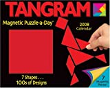 Tangram Magnetic Puzzle-a-Day: 2008 Day-to-Day Calendar by Jeff Cole (2007-09-01)