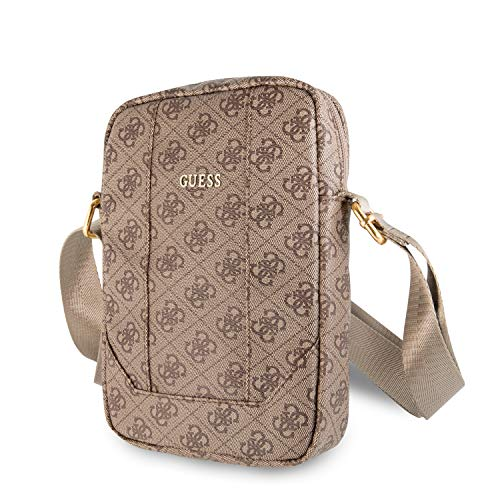 """Guess Bag Gutb104gb 10"""" Brown 4g Uptown, caso Unisex Adulto, Pink, x"""
