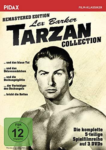 Tarzan - Lex Barker Collection - Alle 5 Tarzan-Abenteuer mit Lex Barker in einer Sammlung