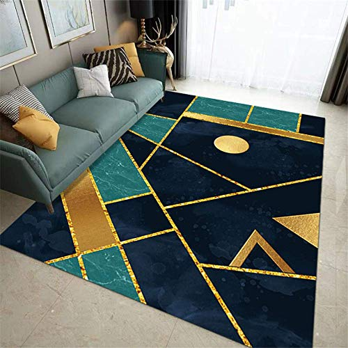 XTUK Home Decoration Floor Mat Bedroom Non Slip Carpet Dining Room Hallway Kitchen Bed Rugs Parlor Decor Area Rug Short Pile Soft Touch Non-slip Extra Large Medium Home Floor 50 * 80cm