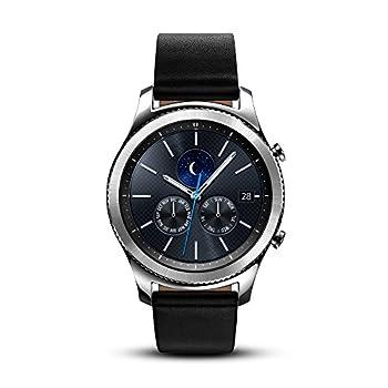 SAMSUNG Gear S3 Classic Smartwatch  Bluetooth  SM-R770NZSAXAR – US Version with Warranty