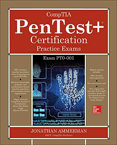 Compare Textbook Prices for CompTIA PenTest+ Certification Practice Exams Exam PT0-001 1 Edition ISBN 9781260440904 by Ammerman, Jonathan