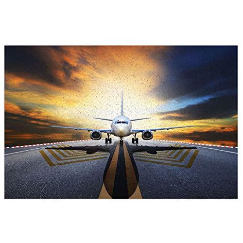 Mgbwaps Alfombrilla de bienvenida para aeropuerto, felpudo al aire libre, alfombra para entrada antideslizante, alfombra lavable para porche frontal, cocina, entrada, 6.2 x 23.6 pulgadas/40 x 60 cm