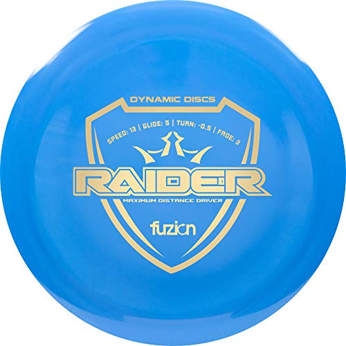 Dynamic Discs Fuzion Raider Distance Driver Golf Disc [Colors May Vary] - 170-172g