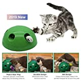 Ashopfun Automatic Pop N' Play Interactive Motion Cat Toy Mouse Tease Electronic Pet Toys