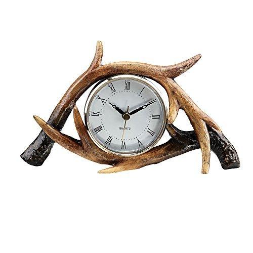 SPI Home Antler Horloge de Table