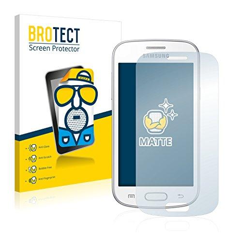 BROTECT 2X Entspiegelungs-Schutzfolie kompatibel mit Samsung GT-S7390 Displayschutz-Folie Matt, Anti-Reflex, Anti-Fingerprint