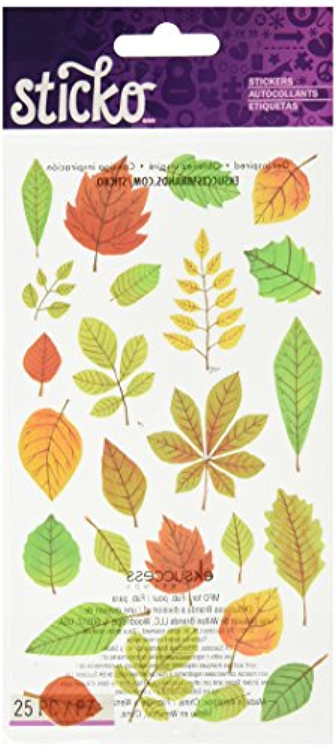 Sticko Elegant Fall Leaves Stickers