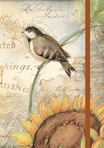 Lang Sunflower Birds Classic Journal by Susan Winget, 6 x 8 inches, 192 Ruled Pages (1009518)