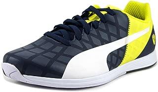 Evospeed 1.4 Scuderia Ferrari Fashion Sneaker Shoe - Dress Blues/White/Vibrant Yellow - Mens - 12
