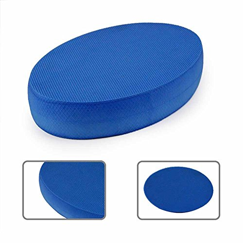 KOET Schaumstoff-Yoga-Board, Balance-Pad für Fitnessstudio, Training, Balance-Trainer, Stabilität, blau, oval