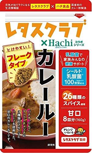 ハチ食品『レタスクラブ×Hachiコラボシリーズ カレールー』