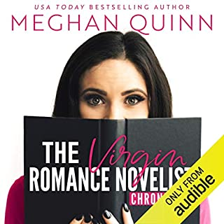 The Virgin Romance Novelist Chronicles audiobook cover art