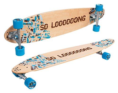 HUDORA Longboard Imperial - ABEC 7 - Skateboard - 12804