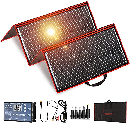 Pannello Solare Portatile Pieghevole Regolatore