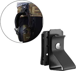 Hearing Protector Holder, Belt Waist Strap Clip Holder for IPSC USPSA IDPA 3-Gun Competition