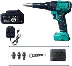 WWZL Elektrische klinknagel pistool, 88 V, volautomatische draagbare draadloze opladen Blind klinknagel pistool, industrië...