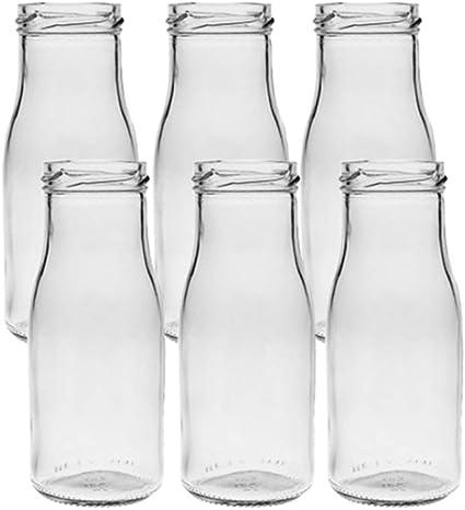 24 unidades redondas   Tipo 156   Mini jarrones de cristal pequeños   Botella decorativa   Väschen jarrones de cristal jarrón flores jarrón (24 ...