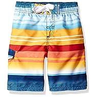 Kanu Surf Boys' Echo Quick Dry UPF 50+ Beach Swim Trunks