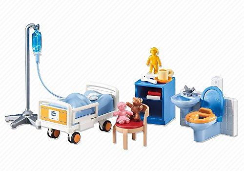 Outletdelocio Playmobil 6444. Habitacion de Hospital para niños