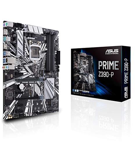 ASUS Prime Z390-P Gaming Mainboard Sockel 1151 (ATX, Intel Z390, 4x DDR4-Speicher, USB 3.1, M.2 Schnittstelle)