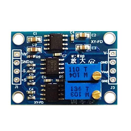 CFsunbird Hochgenauer UV/MV Voltage Kleinsignalverstärker Instrumentenverstärker AD620 Transmitter