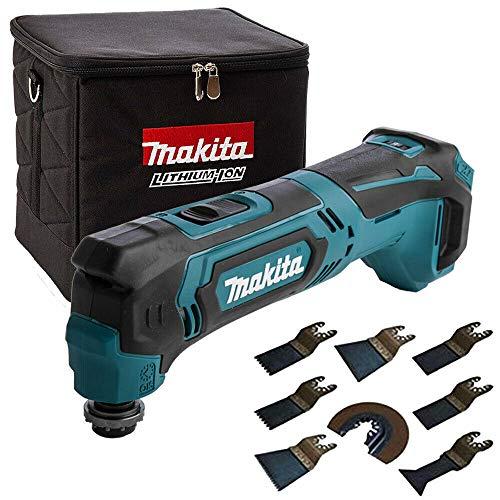 Makita TM30DZ 10.8V CXT Multi Tool with Cube Tool Bag & 8 Piece Accessories Set