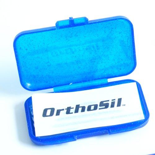 OrthoSil Zahnspangen Silikonwachs Schutzwachs (3 Packungen) (Grundpreis: 2,99€/Stück)