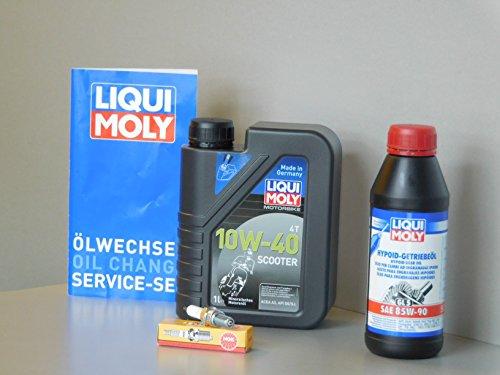 Kit d'entretien SYM GTS 125 - Pour inspection de l'huile - Bougie d'allumage