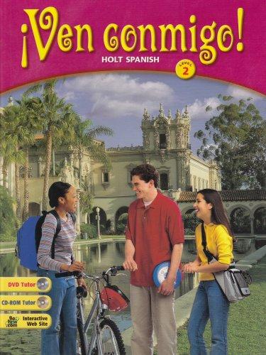 ¡ven Conmigo!: Student Edition Level 2 2003