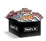That's it Fruit Bars Snack Gift Box { 20 Pack }100% All Natural, Gluten-Free, Vegan, Low Carb Snacks...